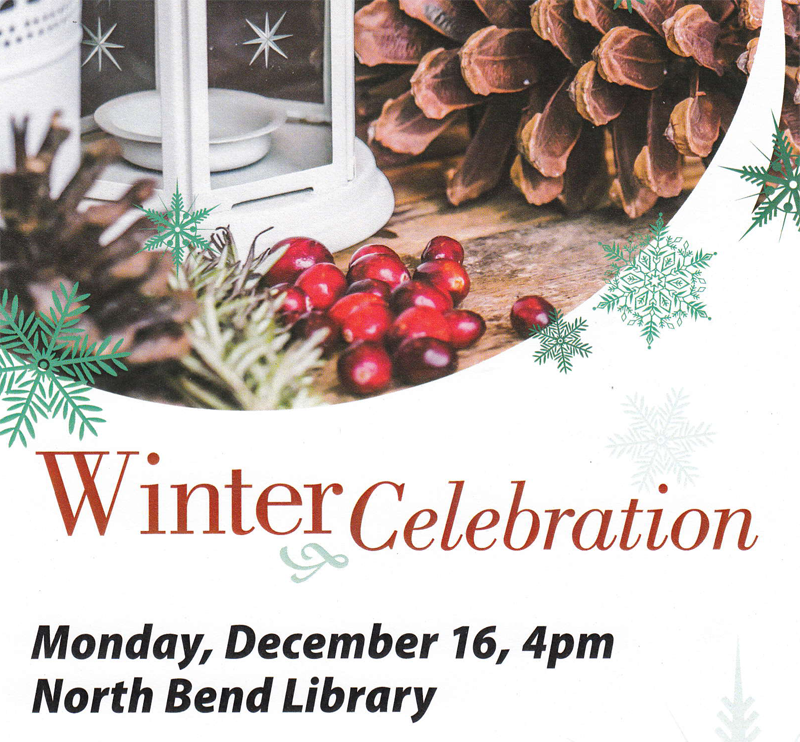 north bend library event